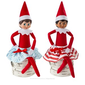 The Elf On The Shelf Claus Couture Twirling In The Snow Skirt