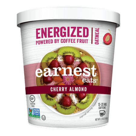 Energized Oatmeal, Cherry Almond, 2.35 Oz, 12 - Basic Cherry Almond