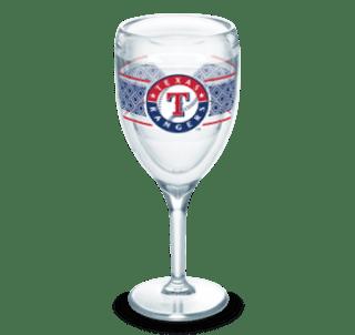 MLB Texas Rangers Select 9 oz Wine