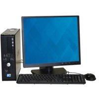 """Refurbished Dell 780 SFF Desktop PC with Intel Core 2 Duo E7400 Processor, 8GB Memory, 19"""" Monitor, 1TB Hard Drive and Windows 10 Pro"""