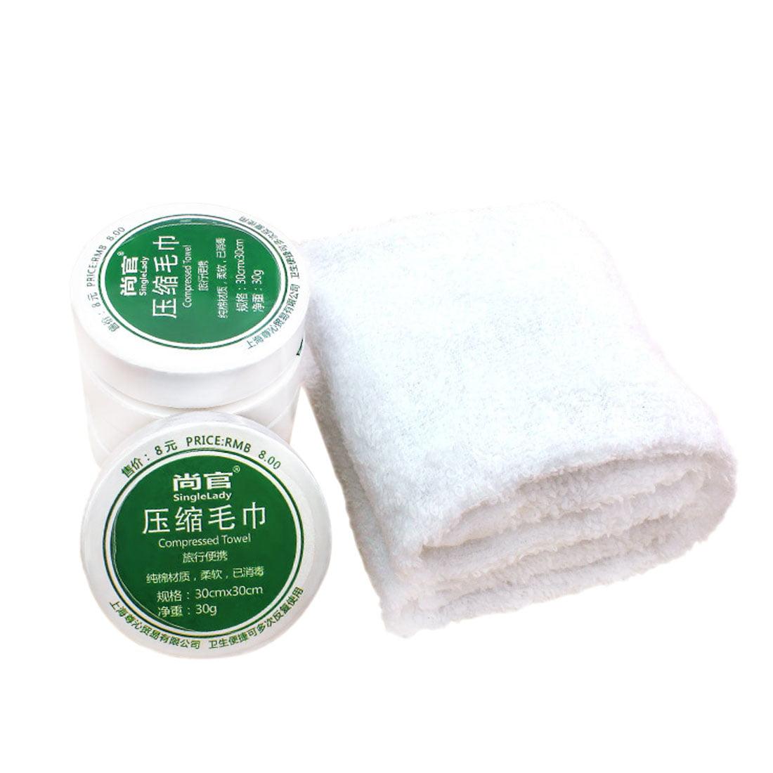 5pcs Portable Towel Compressed Towel Trip Travel Easy Carry Washcloth Towel