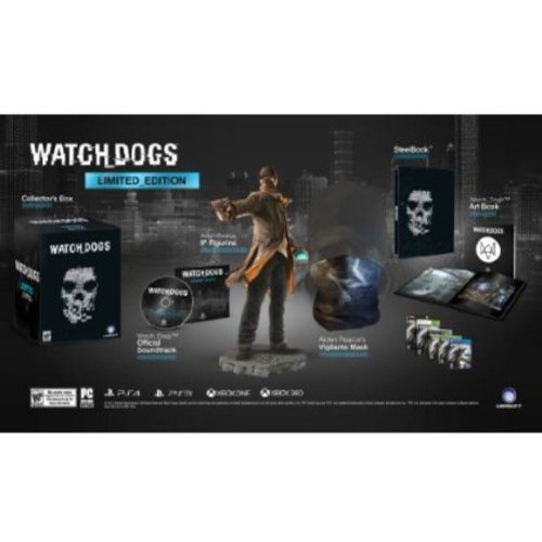 Watch Dogs Limited Edition (PS3) - Walmart Exclusive