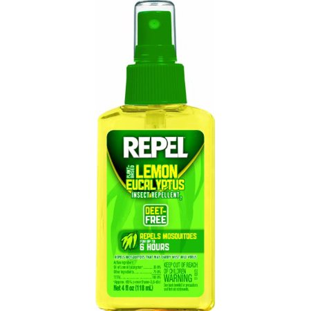 Repel Lemon Eucalyptus Natural Insect Repellent, 4-Ounce Pump Spray Brand New (Natural Insect Repellents)