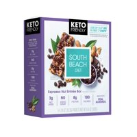 South Beach Diet Keto Espresso Nut Bar, 5 Count