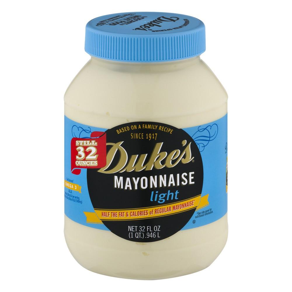 Duke's Light Mayonnaise, 32 Fl Oz