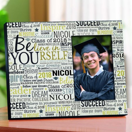 Personalized Believe in Yourself Frame