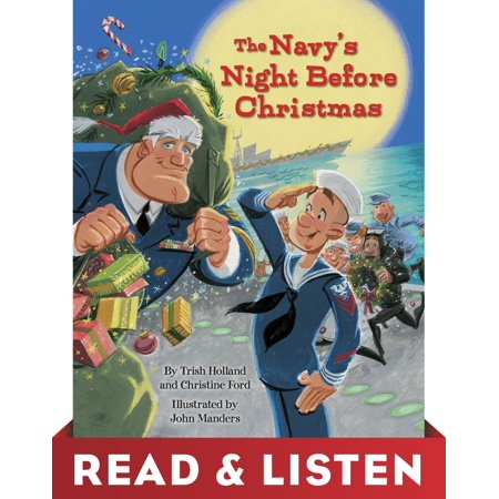 The Navy's Night Before Christmas: Read & Listen Edition -