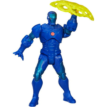 Marvel Mighty Battlers Stealth Strike Armor Iron Man Figure