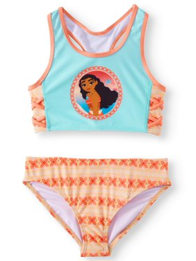 0562aecb4 Product Image Moana Racerback Bikini Swimsuit (Little Girls)