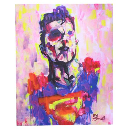 DC Comics Superman Limited Edition 8x10 Inch Art Print by Han Soloski