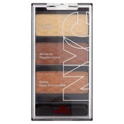 Nyc new york color hd trio eye shadow palette, streets paved in gold