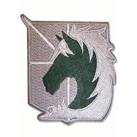 Patch   Attack On Titan   New Military Police Iron On Anime Licensed Ge44713