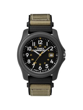 Timex T42571JV Expedition Camper Nylon Strap Watch - Black