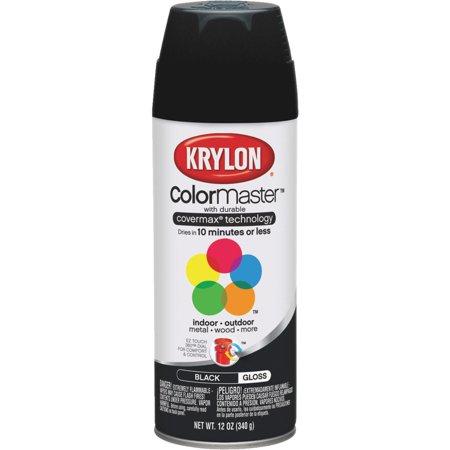 Krylon Colormaster Gloss Black