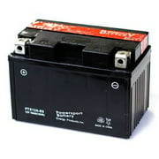 Replacement for YTX12A-BS YTX12A-BS, 12 VOLTS, 11 AH, SEALED LEAD ACID POWER SPORT BATTERY , NUT and BOLT CONNECTOR replacement battery