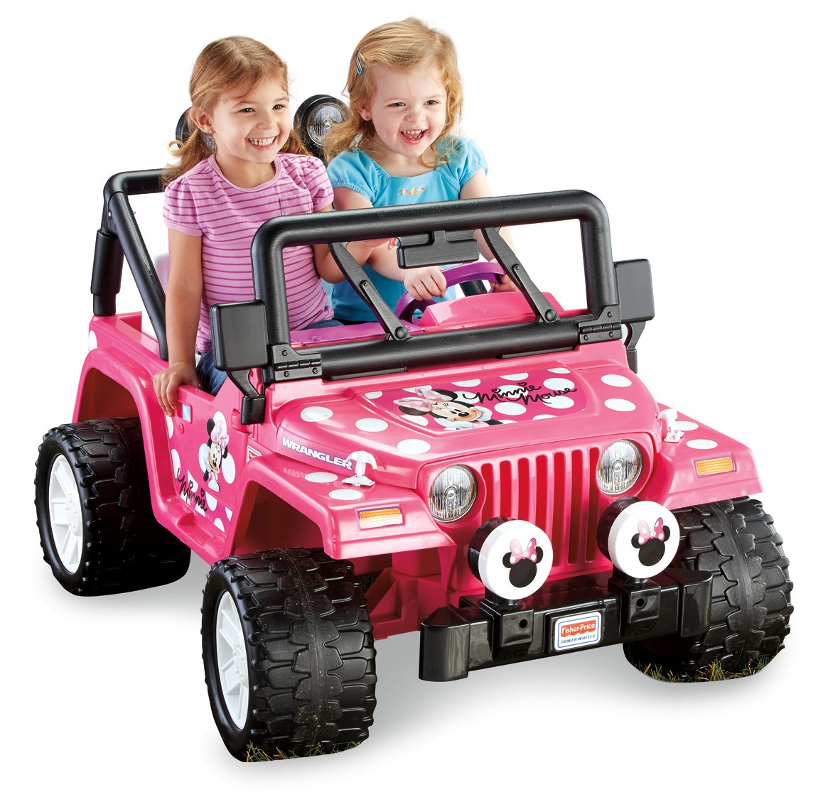 Fisher-Price Power Wheels Disney Minnie Mouse Jeep 12-Volt Battery-Powered Ride-On