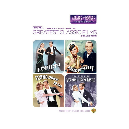 TCM Greatest Classic Films: Astaire & Rogers Volume 2 (DVD) (Music D'halloween Le Film)