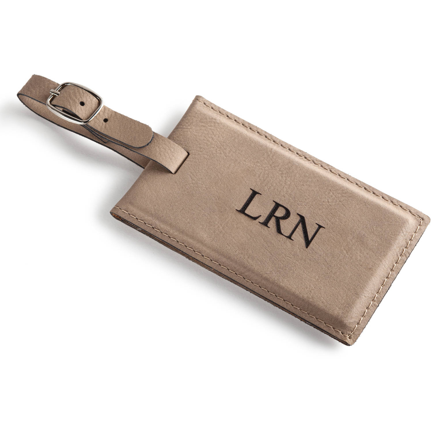 Personalized Luggage Tag With Strap