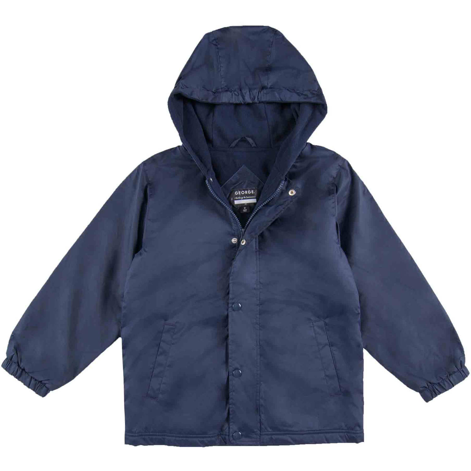 George School Uniform Boys Hooded Fleece Lined Jacket