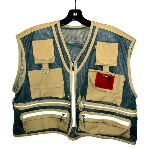 Eagle Claw Adult Fishing Vest 2X Large Mesh, FVAM-2XL by Eagle Claw