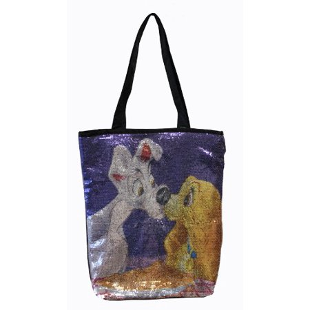 Lady and The Tramp Sequins Tote - Lady  The Tramp Sequin Tote Bag