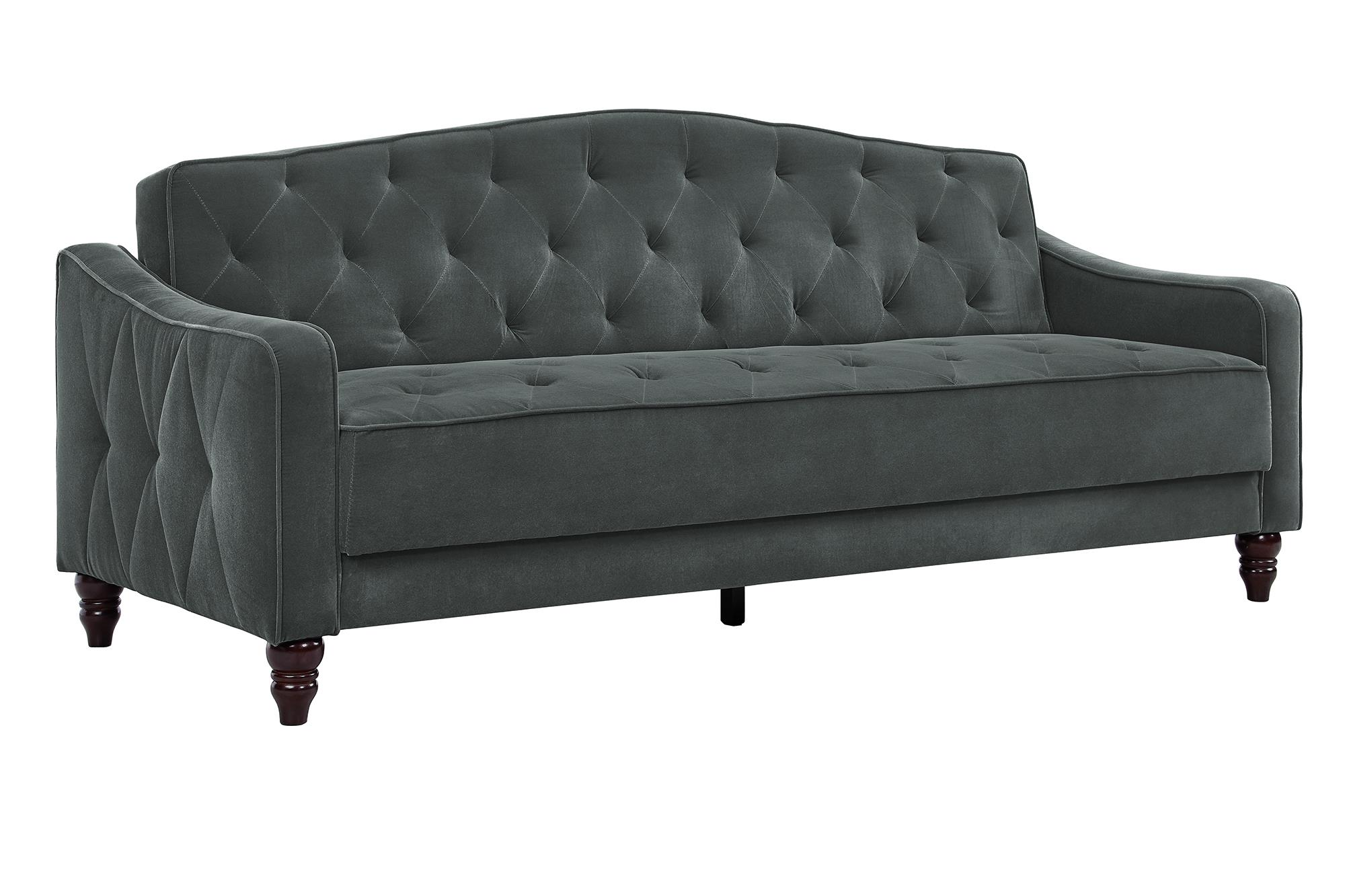 Novogratz Vintage Tufted Sofa Sleeper II, Multiple Colors   Walmart.com