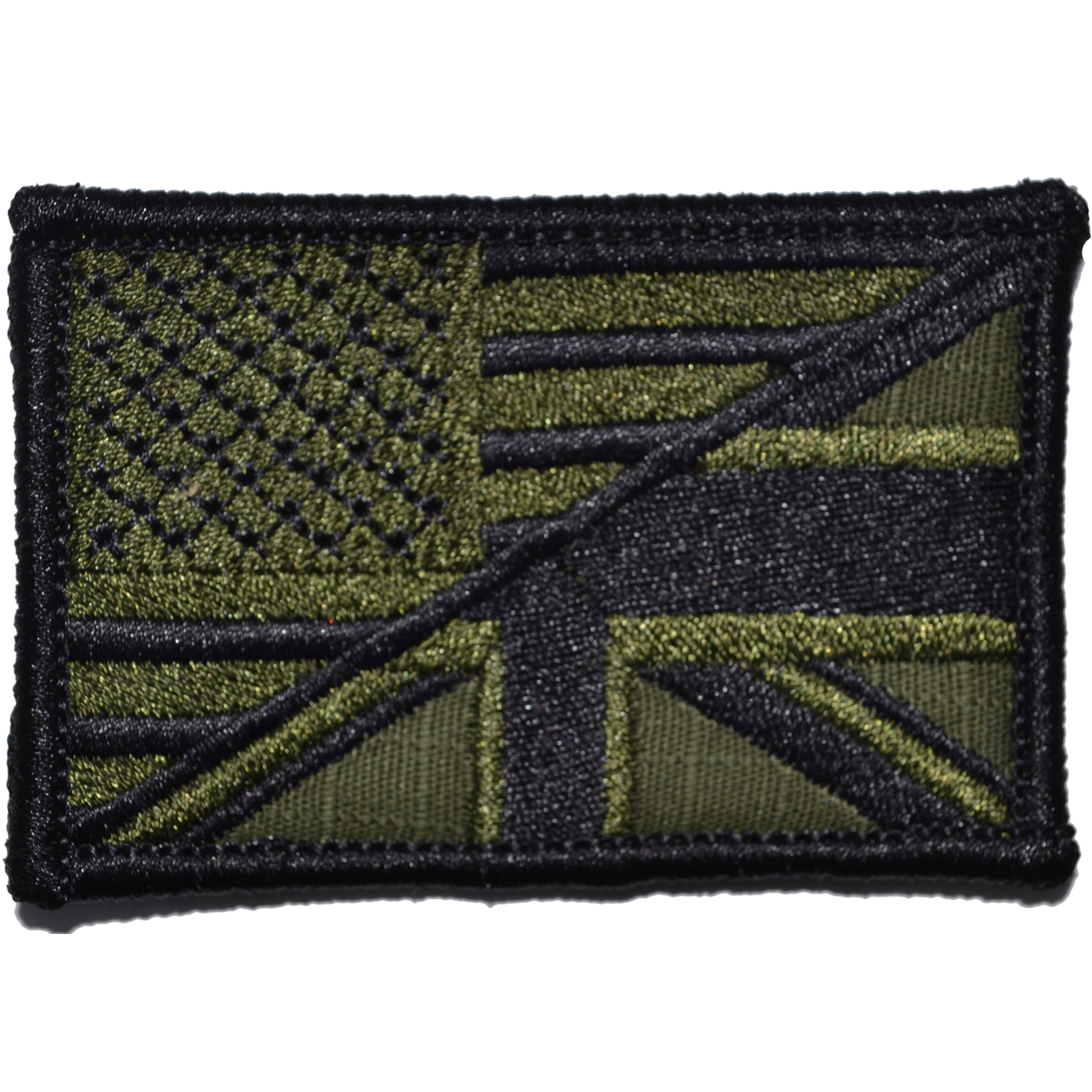 British Union Jack / USA Flag - 2x3 Patch