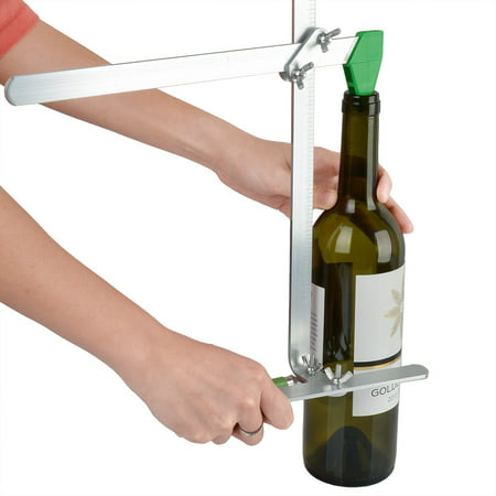 AGPtek Glass Bottle Cutter Stained Glass Recycles Wine Bottles