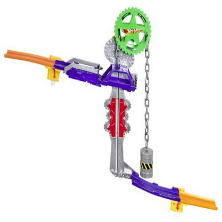 Hot Wheels Wall Tracks Power Pulley Track Set