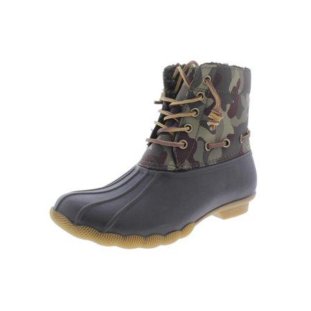 848f007ea4e Steve Madden - Steve Madden Womens Torrent Ankle Water Resistant Rain Boots  - Walmart.com