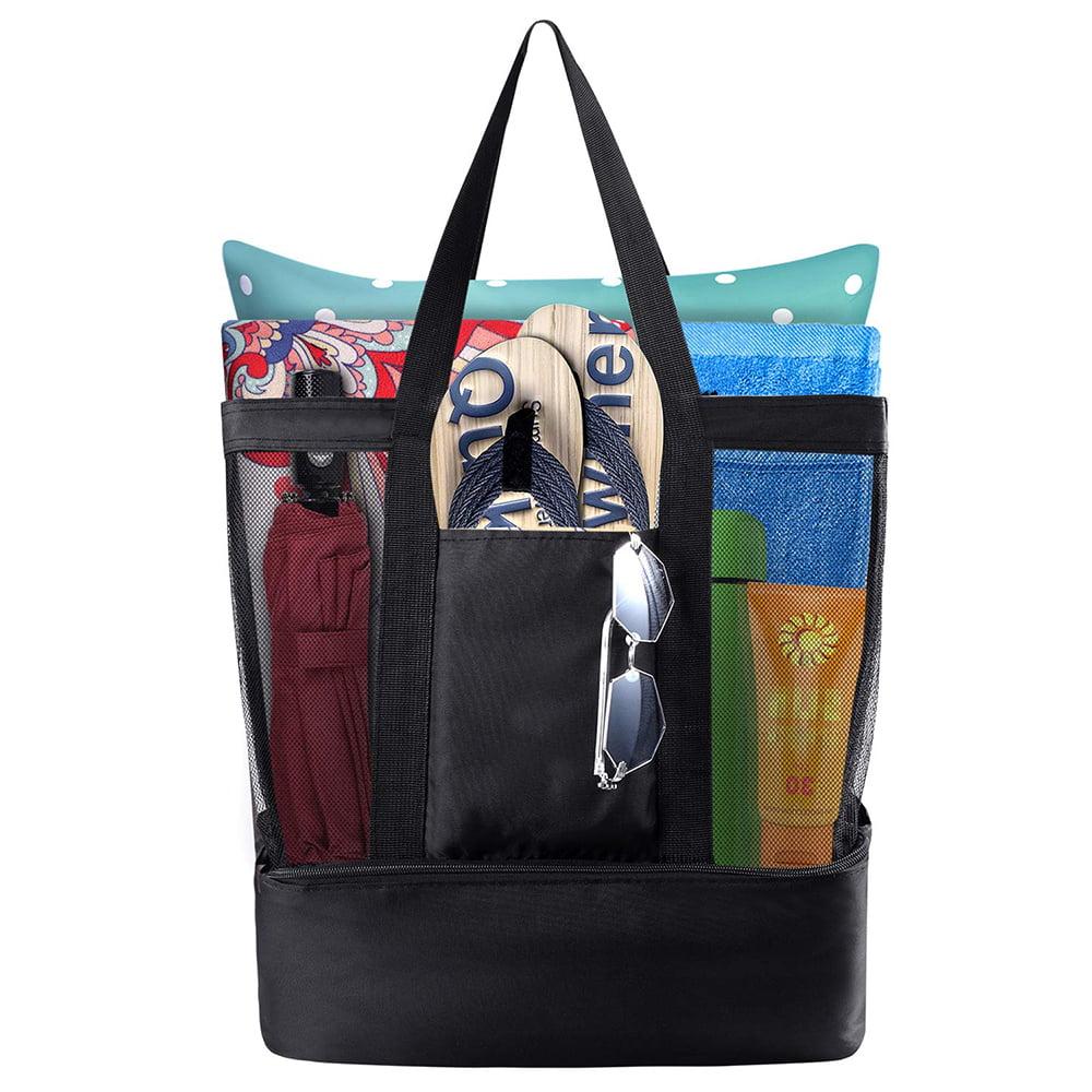 Beach Bags And Totes Mesh Tote Bag