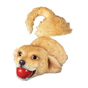 Dog Fetching Pool Floater, Beige