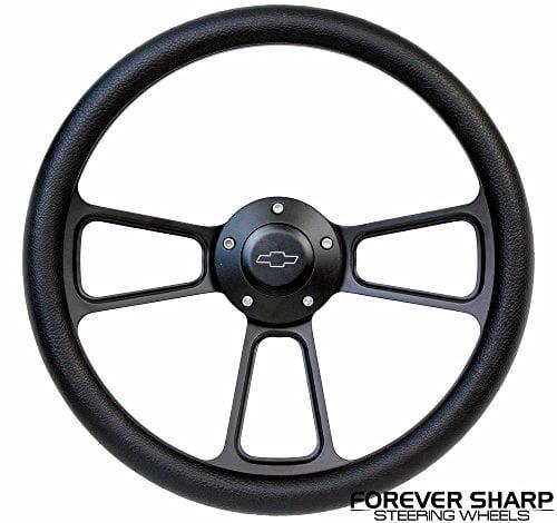 1960-69 Chevy Truck Pickup Aluminum Black Steering Wheel ...