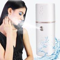 LYUMO Face Mist Sprayer,Face Sprayer,4 Color Portable Face Atomization Sprayer Nanoscale Nano Mist Spray Moisturizing Skin Bottle