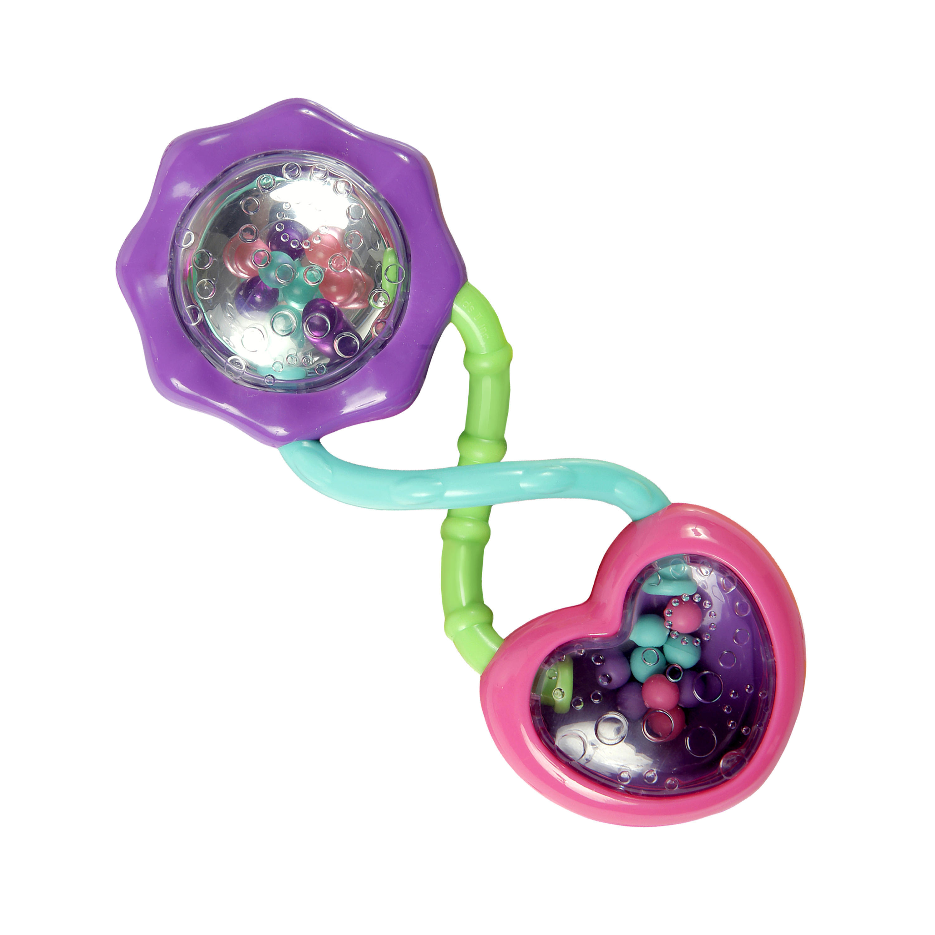 Bright Starts Rattle And Shake Barbell Rattle Toy by Bright Starts