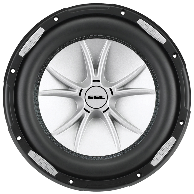 "Ssl Slr12dvc Woofer - 1875 W Rms - 2500 W Pmpo - 1-way - 1 Pack - 4 Ohm - 85 Db Sensitivity - 12"" Woofer - Automobile (slr12dvc)"