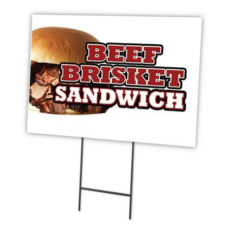BEEF BRISKET SANDWICH 12
