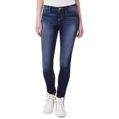 Womens Light Blue Jeans - Juniors' Essential Skinny Jeans