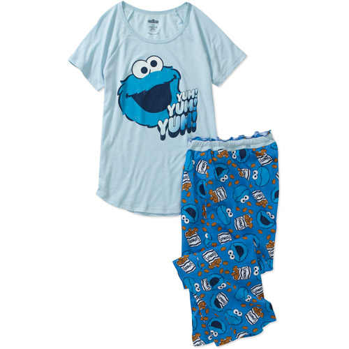 Juniors Character Sleep Shirt And Capri