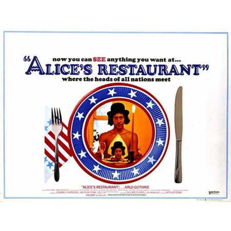Alice's Restaurant POSTER Movie B Mini - Halloween Nyc Restaurant