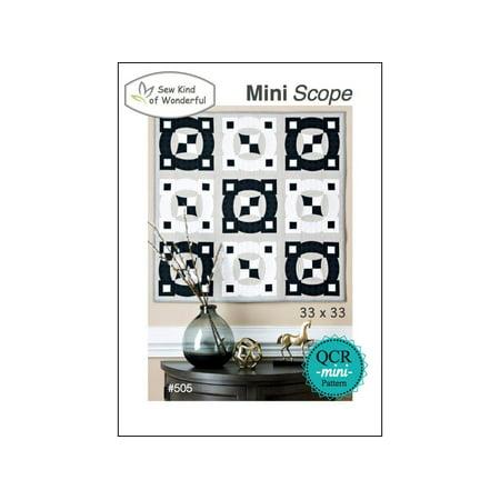 Sew Kind Of Wonderful Qcr Mini Scope Ptrn