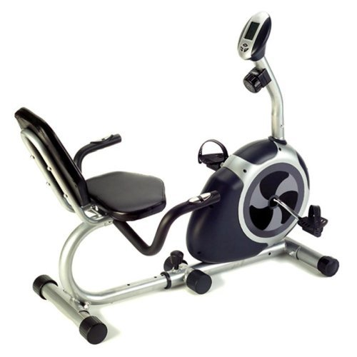 Crescendo Fitness Magnetic Recumbent Bike