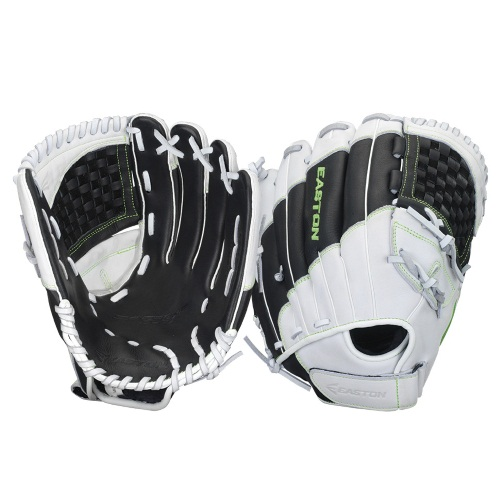 "Easton Synergy Elite Inf/Outfield Fastpitch Glove BLACK/WHITE 12.5"" RIGHT HAND THROW"