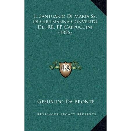 Il Santuario Di Maria Ss  Di Gibilmanna Convento Dei Rr  Pp  Cappuccini  1856