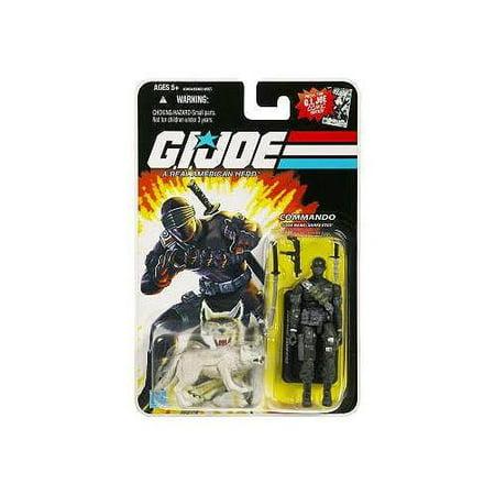 GI Joe Wave 1 Snake Eyes with Timber Action Figure - Gi Joe Female