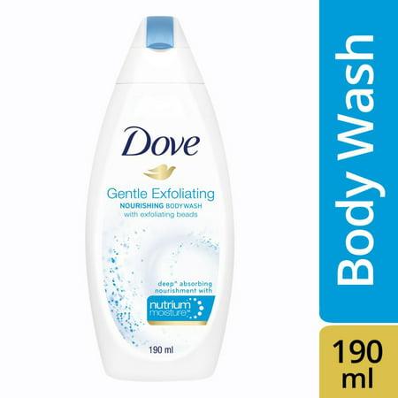 Dove Gentle Exfoliating Nourishing Body Wash, 190ml Dove Gentle Exfoliating Body Wash