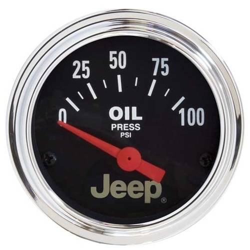 AUTO METER 880240 JEEP 2-1/16IN OIL PRESSURE