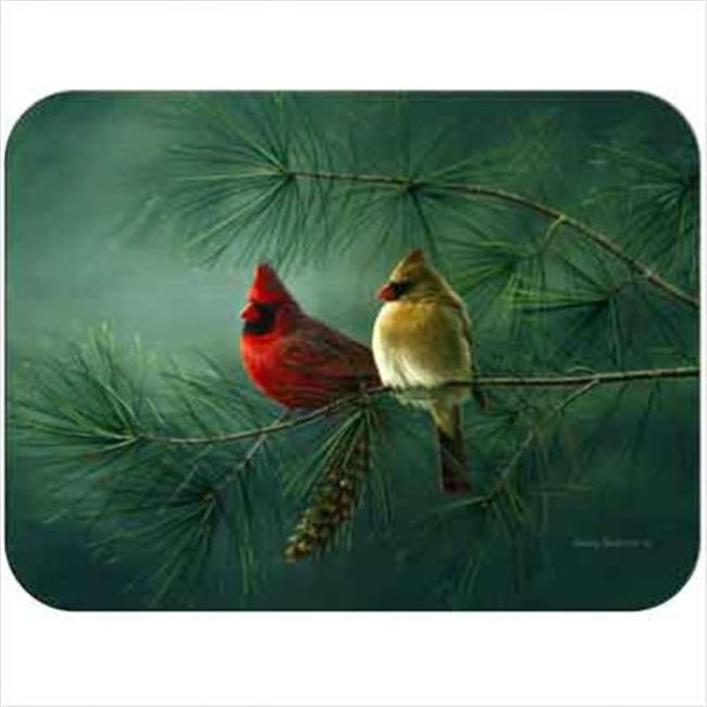 McGowan TT92061 Tuftop Cardinals and White Pine Cutting Board- Small