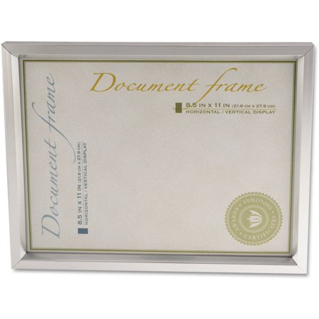 Universal Plastic Document Frame, for 8-1/2
