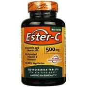 American Health Ester C 500mg Vegetarian Tablets, 225 Ct
